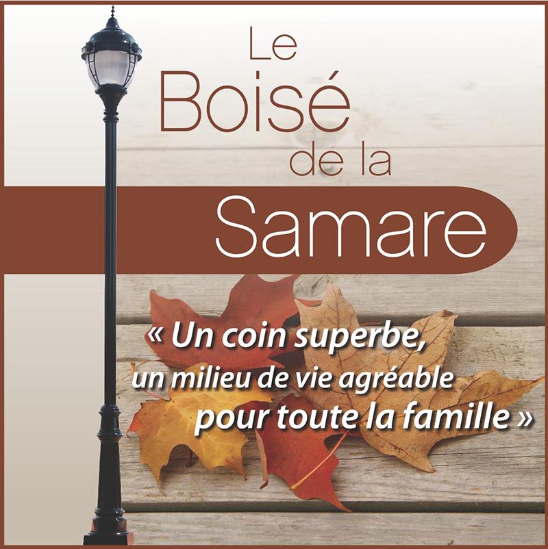 Boisé de la Samare - Groupe Sélect inc.